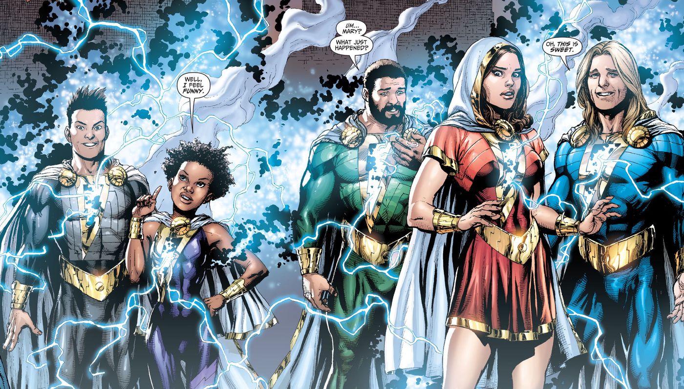 The real comics history behind the Shazam kids