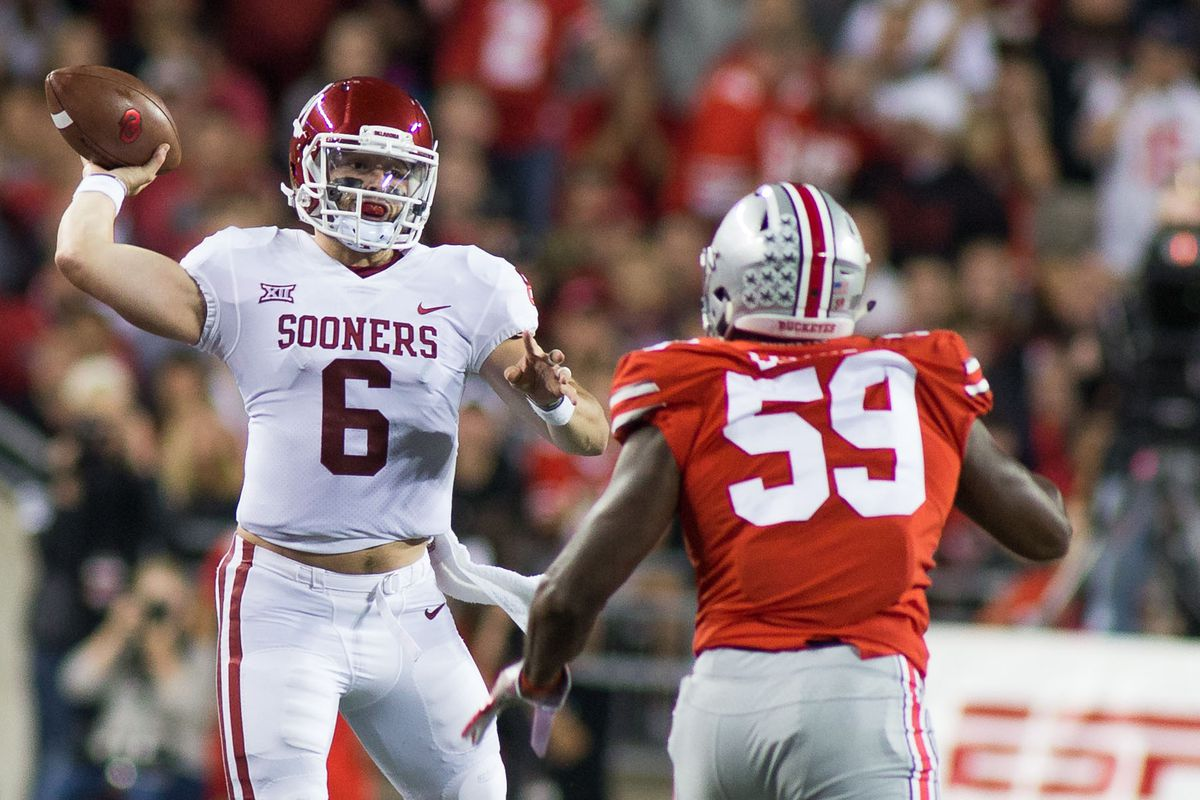 bcfe113dca8 2018 NFL mock draft  How early will Baker Mayfield get picked ...