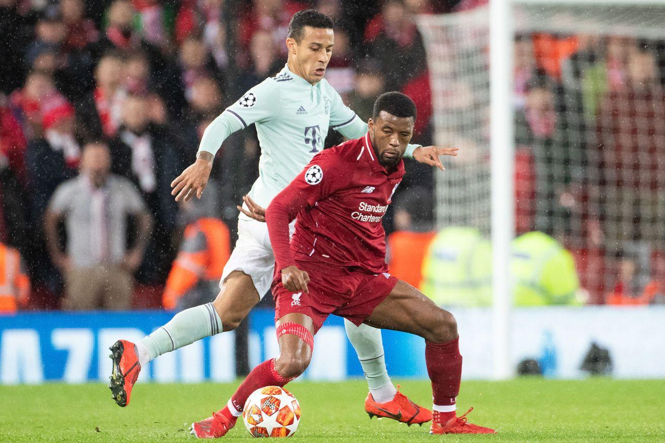"UEFA Champions League""Liverpool FC v Bayern Munich"""