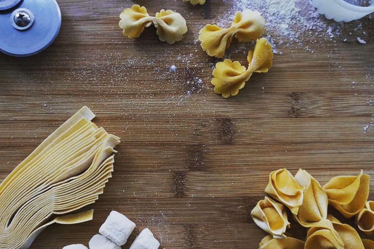Pasta at Luce