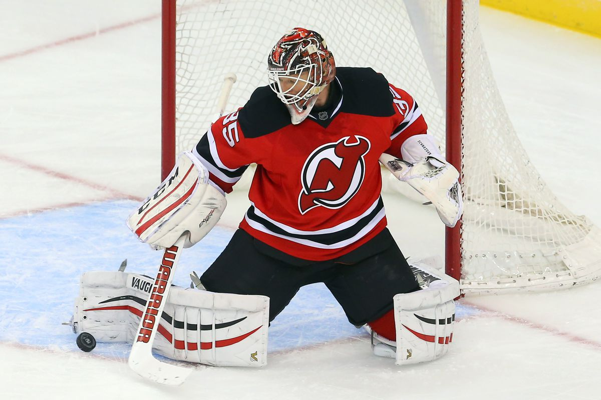 Surprise, surprise, Cory Schneider is the top man on the Devils.