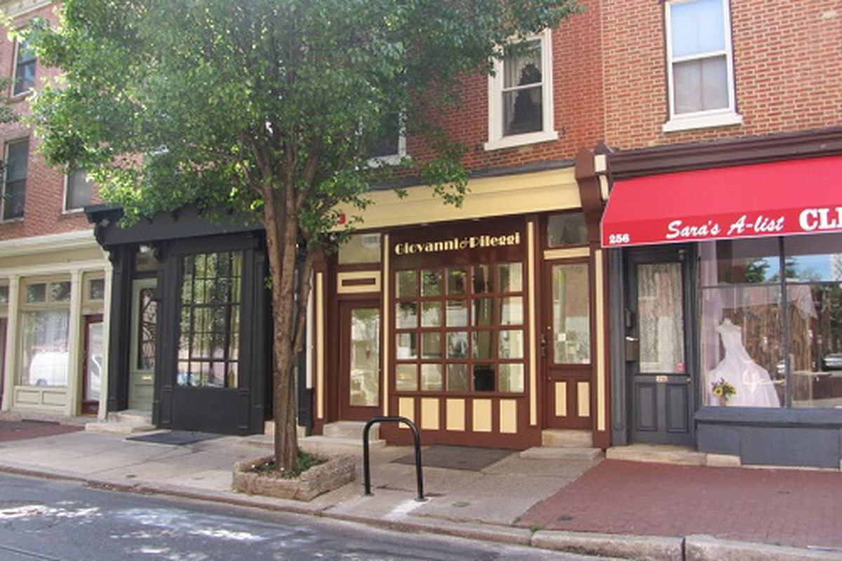"""Giovanni &amp; Pileggi's current spot at 258 South 11th Street. Image credit: <a href=""""http://www.giovannipileggi.com/"""">Giovanni &amp; Pileggi</a>"""