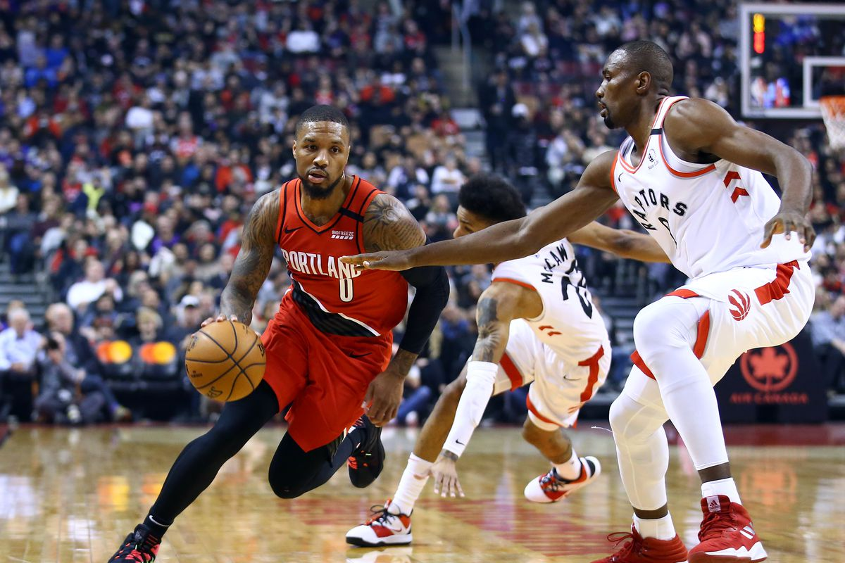 Portland Trail Blazers v Toronto Raptors