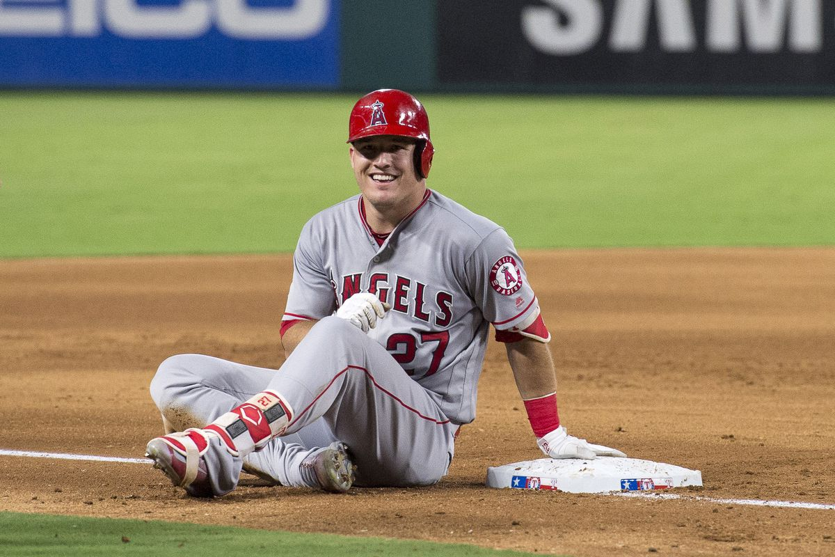 Mike Trout Is The Greatest Player At His Age Of All Time Halos Heaven