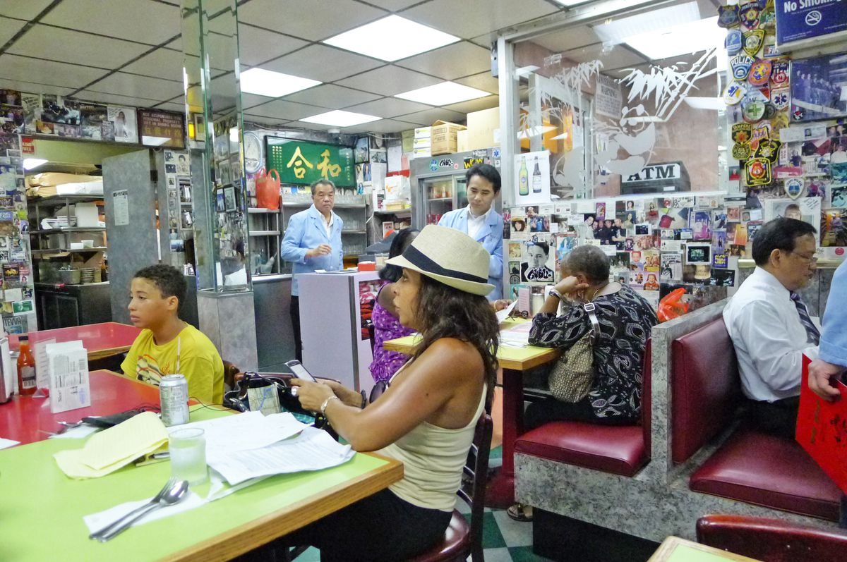 Wo Hop is one of the city's oldest Chinese-American restaurants.