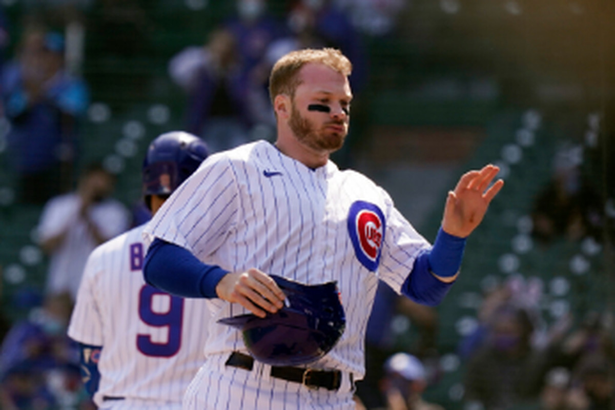 Cubs leadoff man Ian Happ is hitting only .163, but manager David Ross says he is happy with the quality of his at-bats.