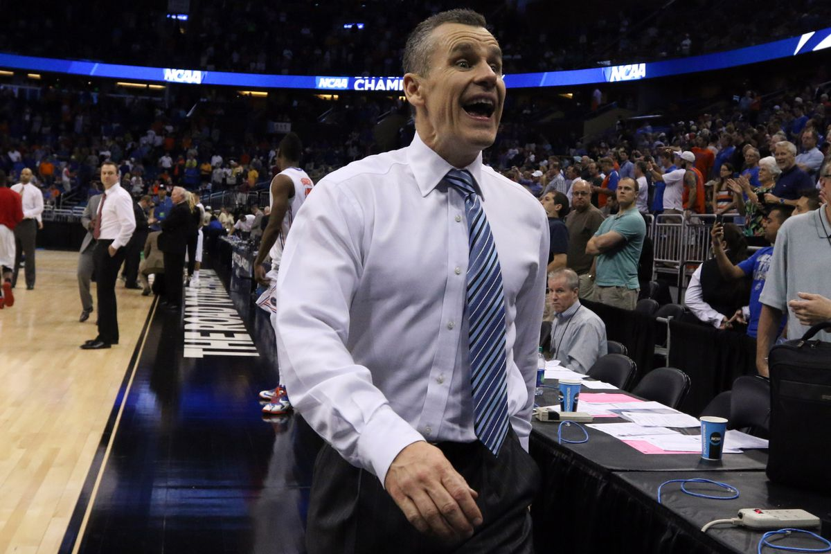 If you were leading our bracket pool, you might be this happy.