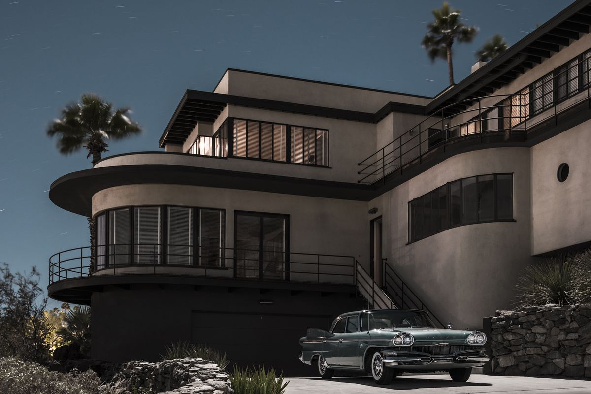 Mid Century Modern Homes midcenturymoonlight: photographer's book showcases modern palm