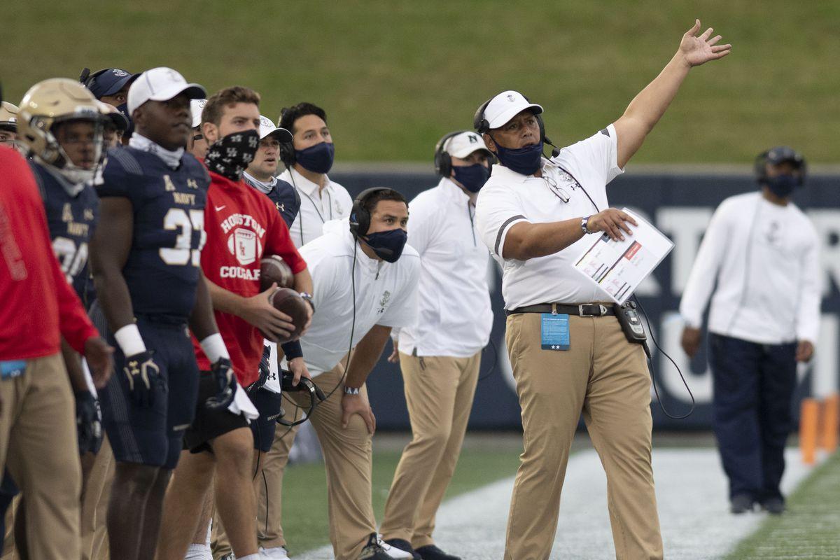 NCAA Football: Houston at Navy
