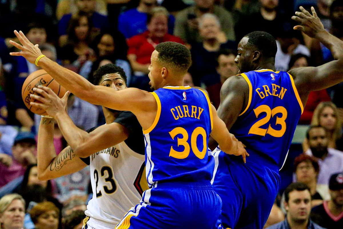 ecd51a32cba NBA Playoff Preview  New Orleans Pelicans seek to steal Game 1 of Western  Conference semifinals against Golden State Warriors