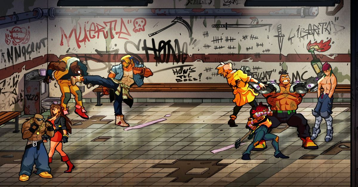 Streets of Rage 4 will have four-player co-op