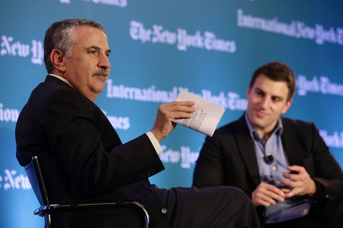 International New York Times Global Forum Singapore - Thomas L. Friedman's The Next New World - Inside