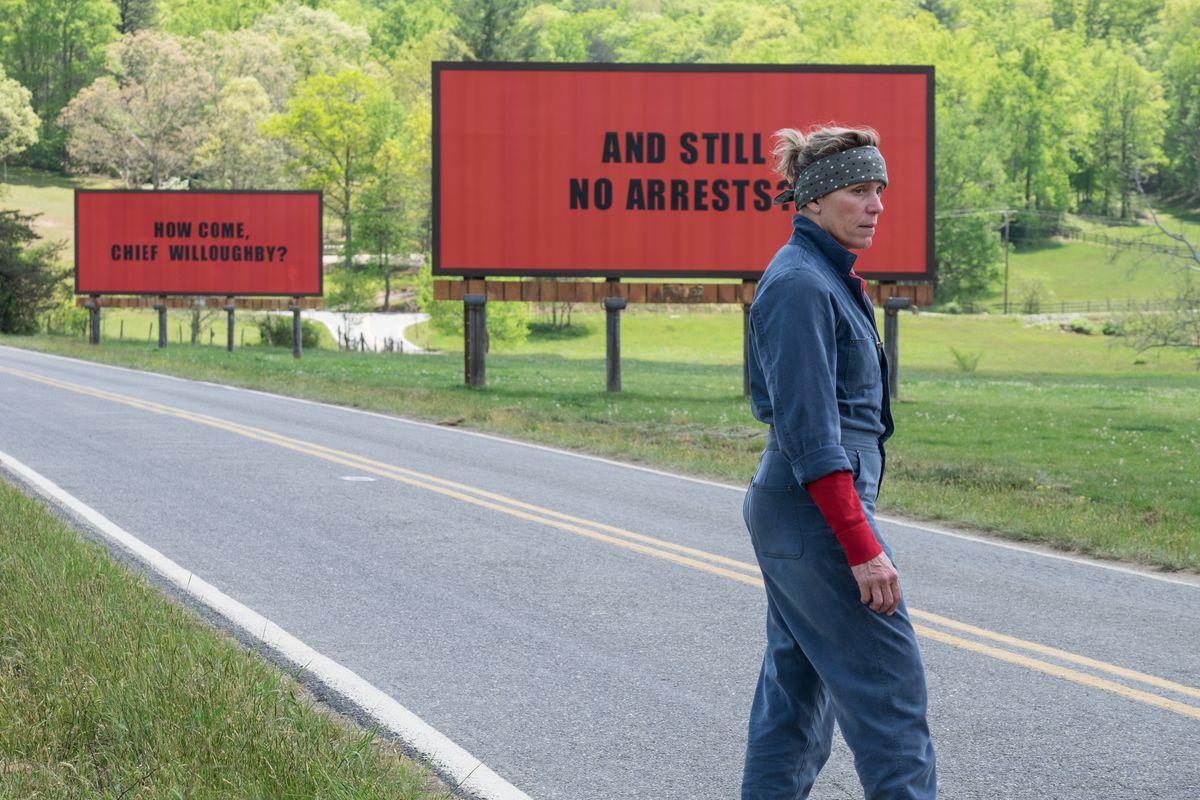 Frances McDormand in 'Three Billboards Outside Ebbing, Missouri'