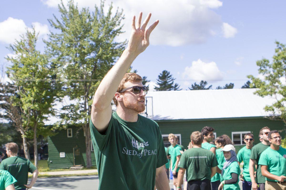 NBA Visits Seeds of Peace Camp