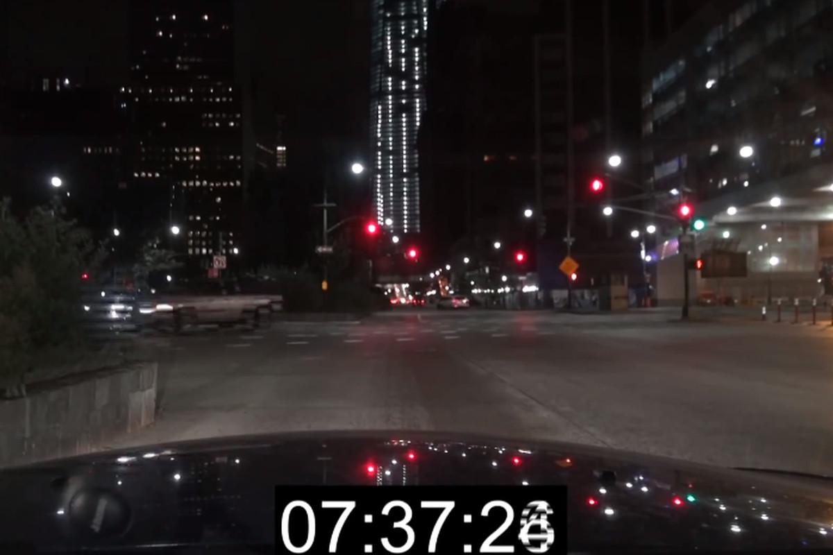 NYC speeding screenshot