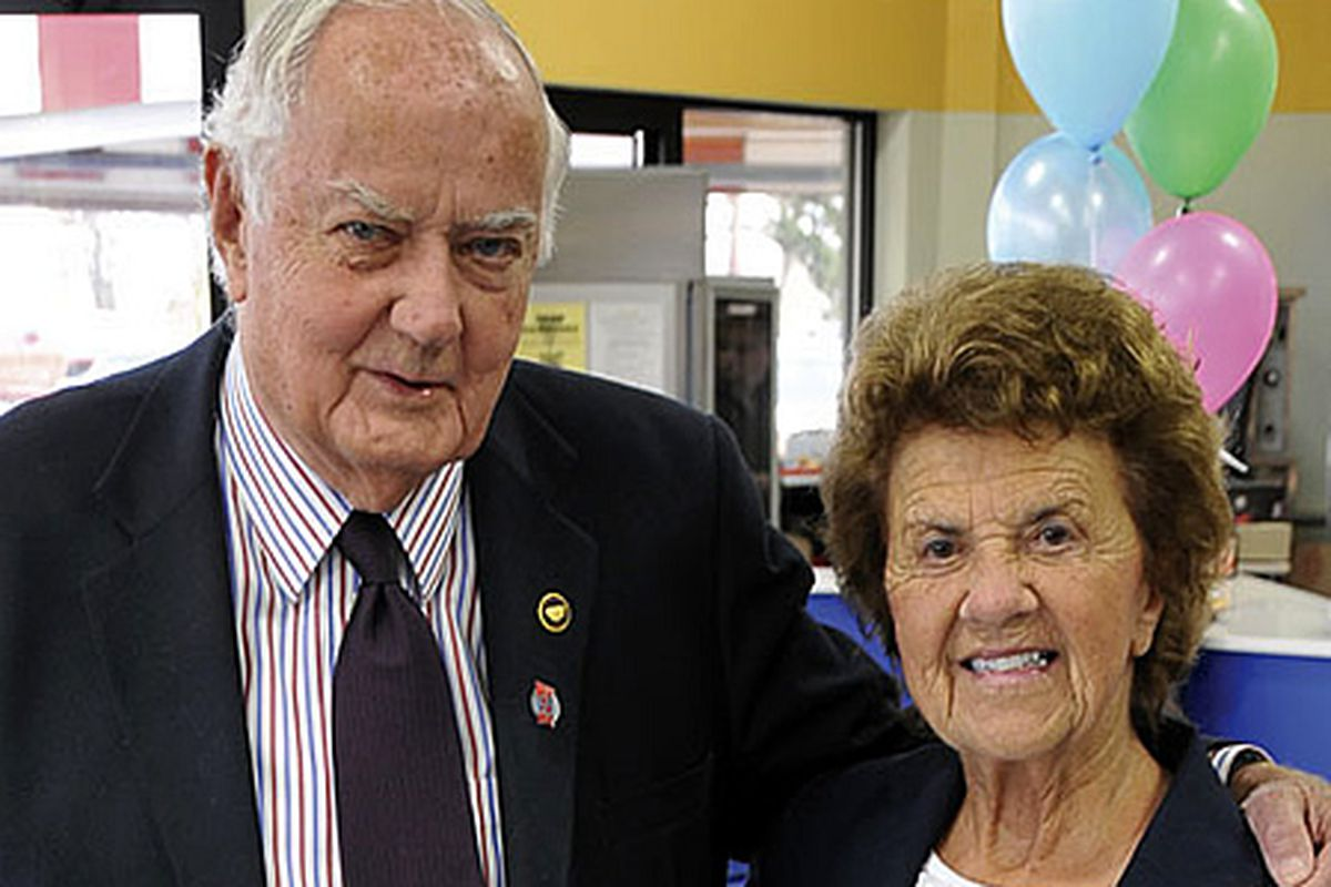 Jim Herr and wife Miriam in March 2011