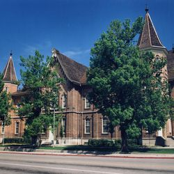 The Provo Tabernacle in 1997.