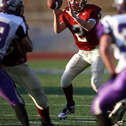 Juab High quarterback Brock Orme will return as a starter this season.