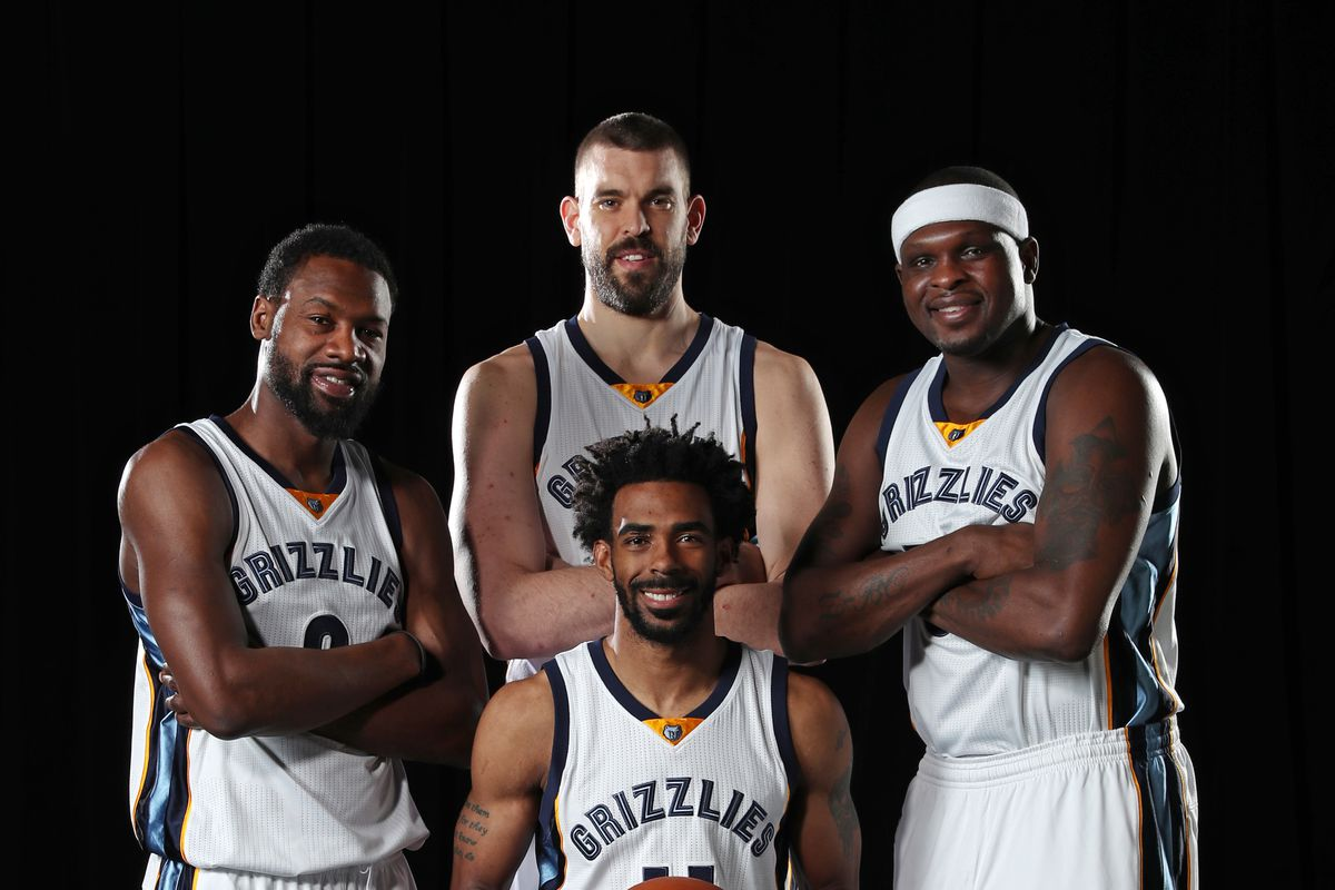 2016-17 Memphis Grizzlies Team Photo