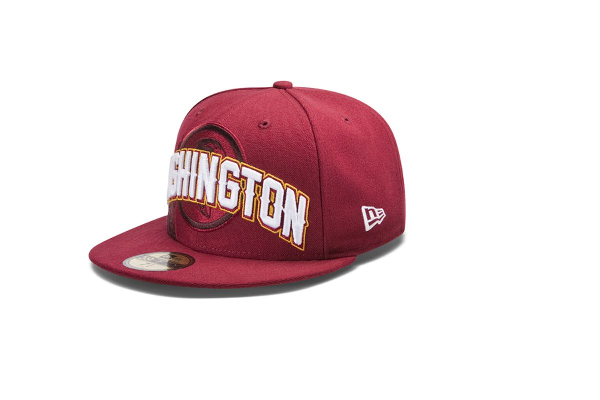 2012 Draft Day hat for the Redskins.