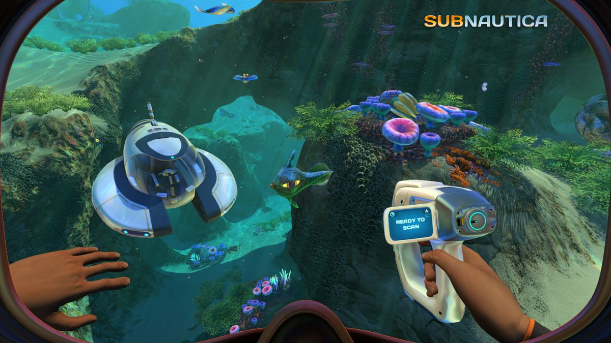 The Sea is Scanned in Subnautica