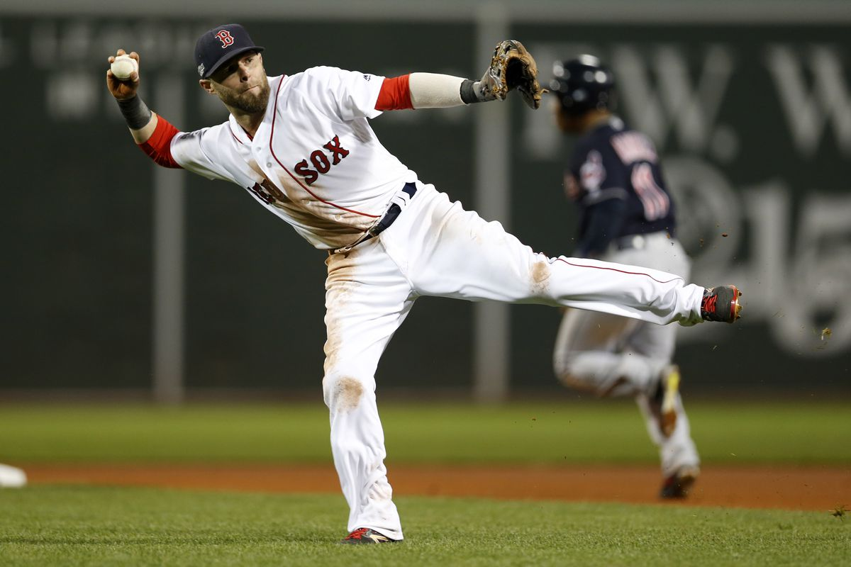 MLB: ALDS-Cleveland Indians at Boston Red Sox