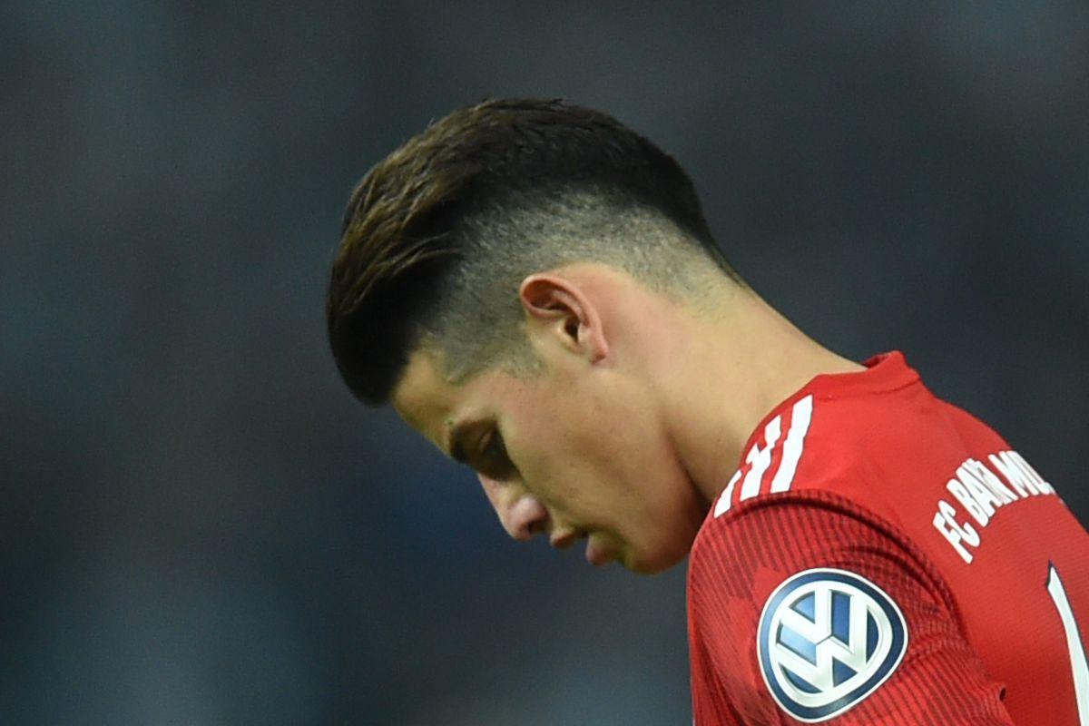 bayern munich star james rodriguez has suffered a knee injury