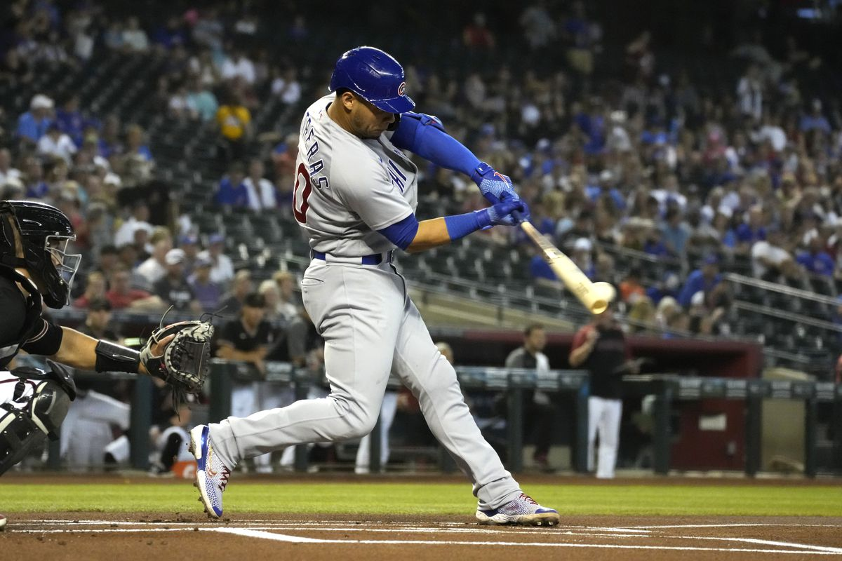 Willson Contreras getting opportunity to be Cubs' new leadoff hitter -  Chicago Sun-Times
