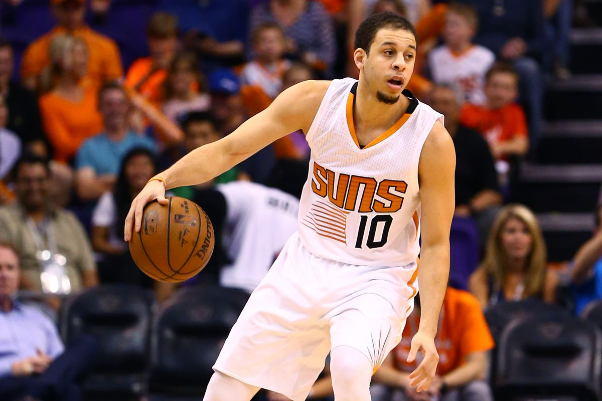 Seth Curry's stint with the Suns was short, 2 games.