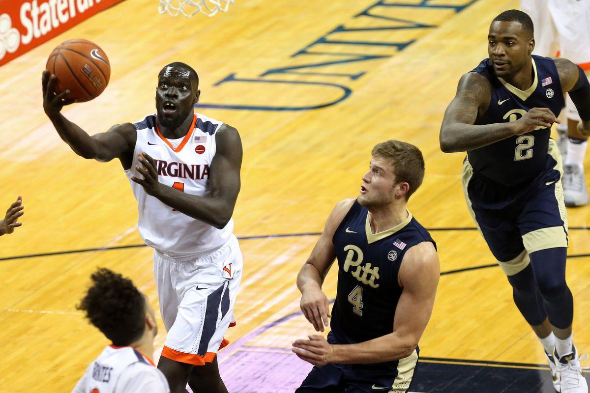 NCAA Basketball: Pittsburgh at Virginia