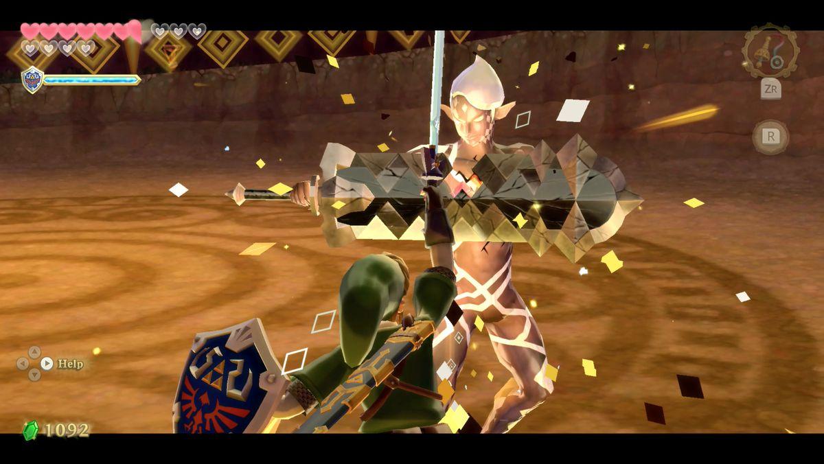 Ghirahim and Demise final boss fight walkthrough – Zelda: Skyward Sword HD guide