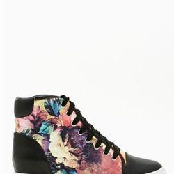 "<a href=""http://www.nastygal.com/product/blazing-bloom-sneaker/_/searchString/shoe%20cult"">Blazing Bloom Sneaker</a>, $78.00"