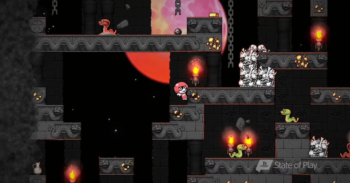 Spelunky comes to PlayStation 4 Sept. 15 - Polygon