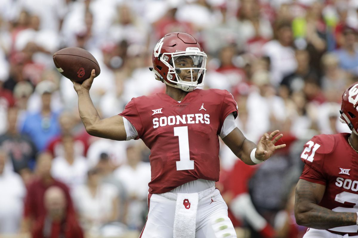 535023a3 Oklahoma Sooners Football Hot Links: The Kyler Murray hype train is  beginning to roll