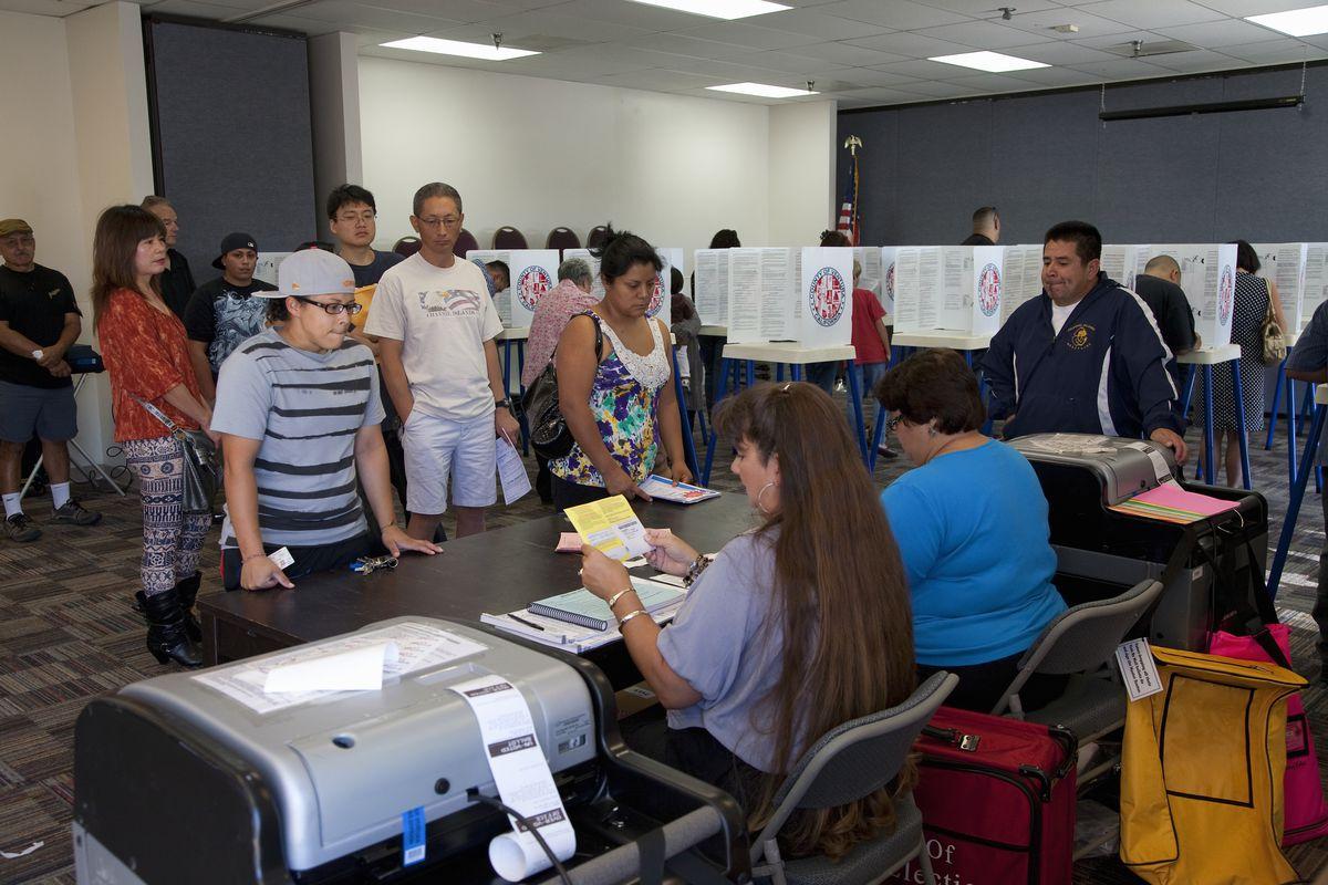 Ventura County, CA voters (2012)