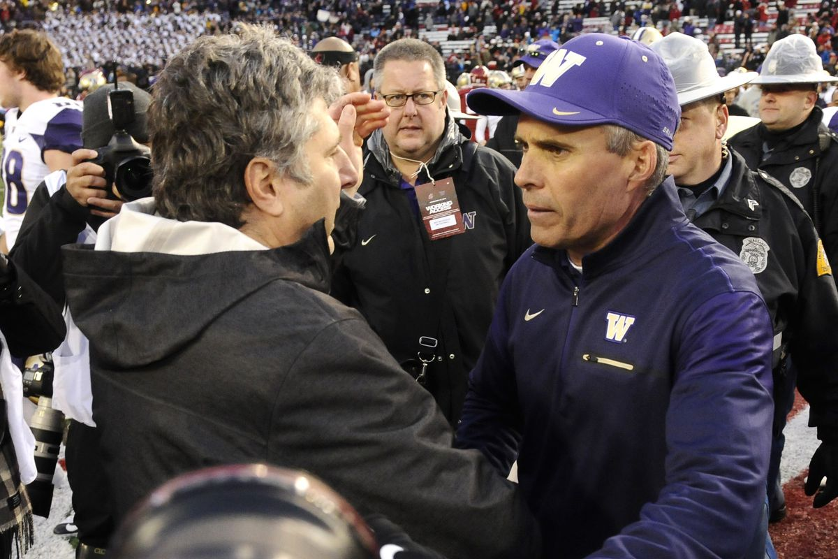 College Football Friday: Apple Cup Highlights Today's Games
