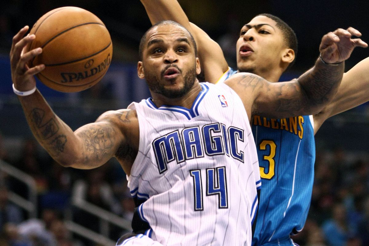 Jameer Nelson and Anthony Davis