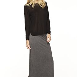 """The classic maxi skirt. <a href=""""http://www.lnaclothing.com/FAIRBANKS-FISHTAIL-SKIRT-at-PID24829-FW1211.aspx"""">Fairbanks fishtail skirt</a>, $59.25 (was $101.00)"""