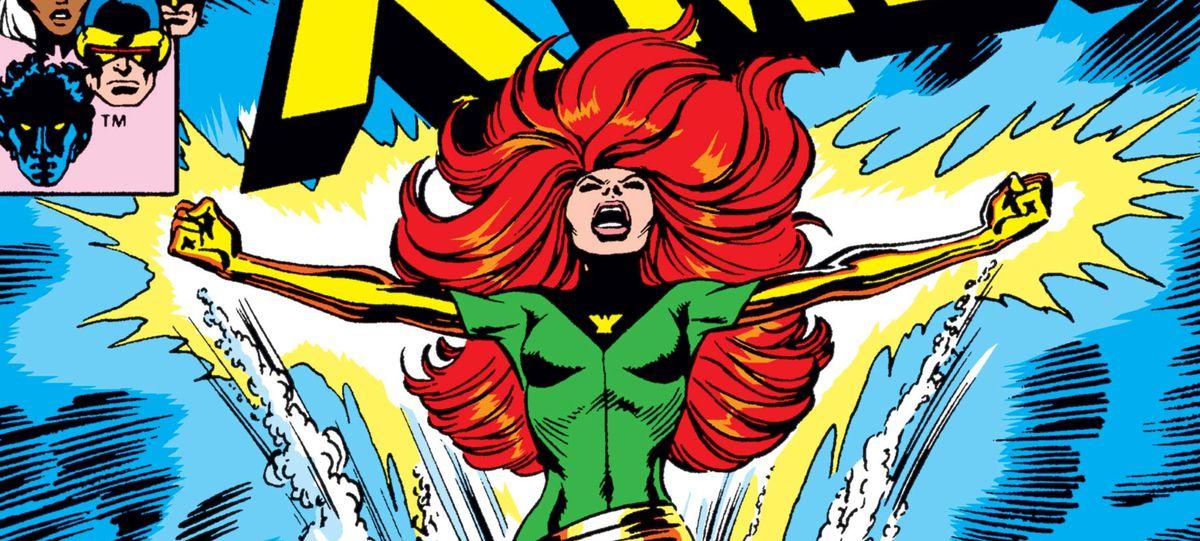 Jean Grey/Phoenix on the cover of Uncanny X-Men #101, Marvel Comics (1976).