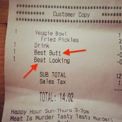 """<a href=""""http://eater.com/archives/2012/08/21/heres-a-receipt-that-gives-two-cents-off-for-best-butt.php"""">Here's a Receipt That Gives Two Cents Off For 'Best Butt'</a>"""