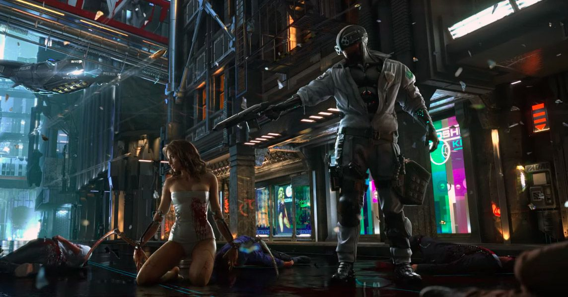 CD Projekt's Cyberpunk 2077 shows proof of life