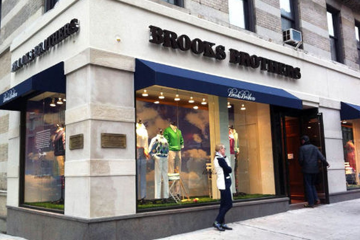 """Image via <a href=""""http://theshophound.typepad.com/the_shophound/2012/03/now-open-brooks-brothers-latest-store-hits-the-upper-west-side.html"""">The Shophound</a>"""