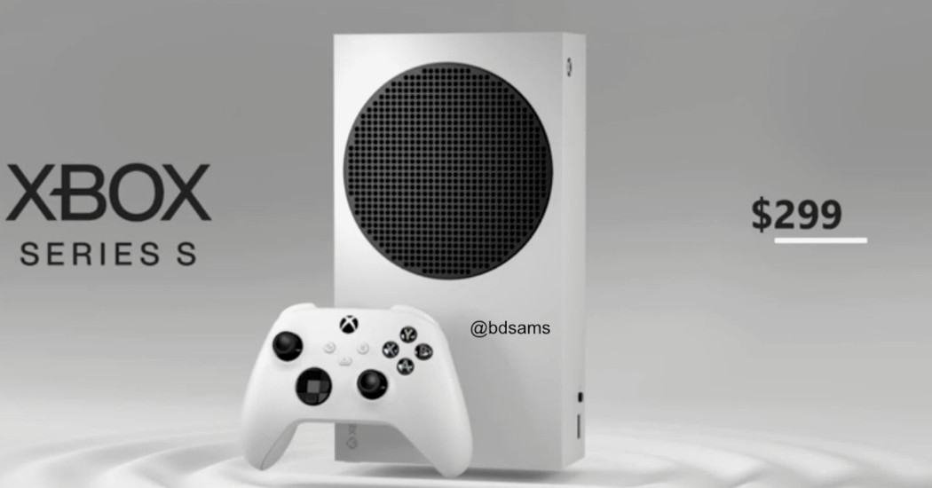 Xbox Series S leaks with $299 price, Series X reportedly $499 thumbnail