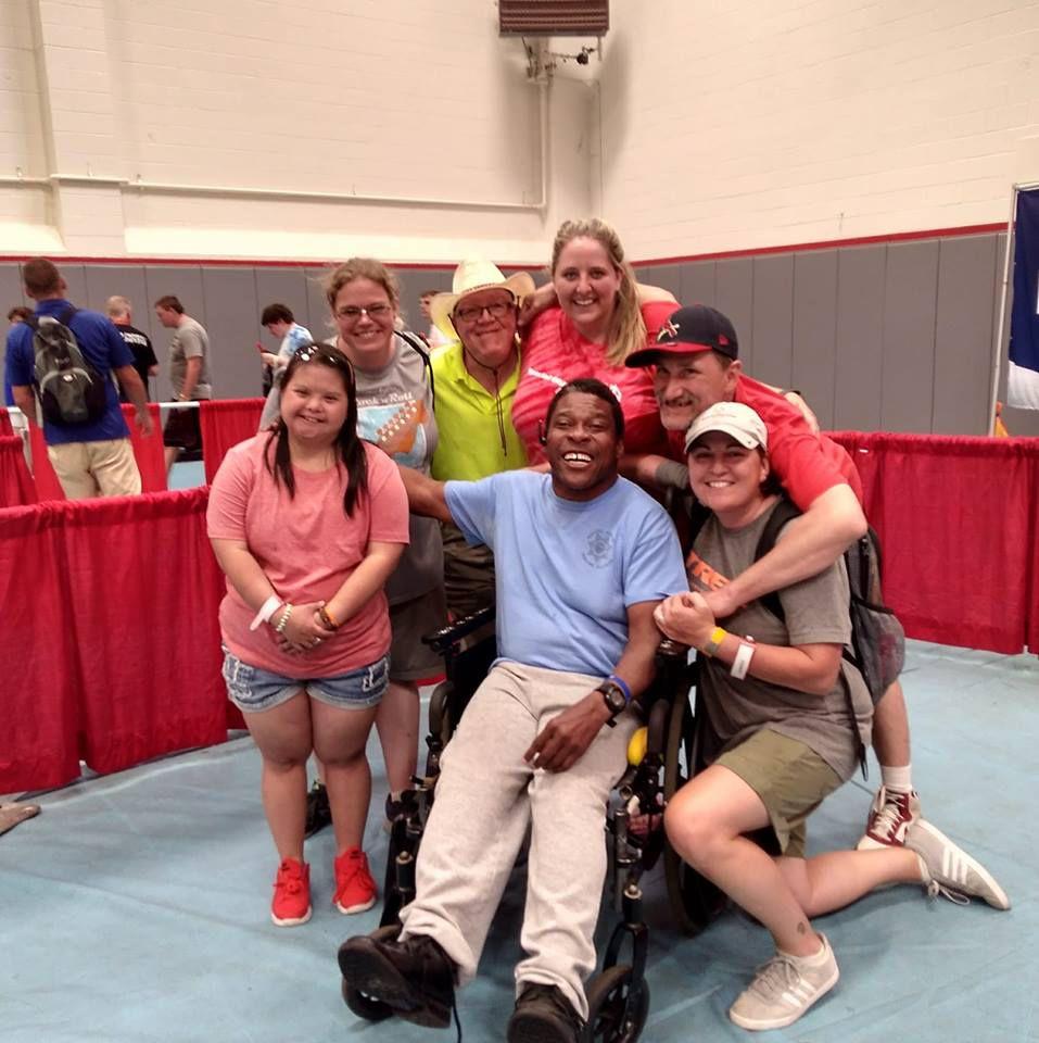 Tony Hill   Special Olympics photo