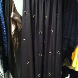 Liked this grommet maxi skirt.