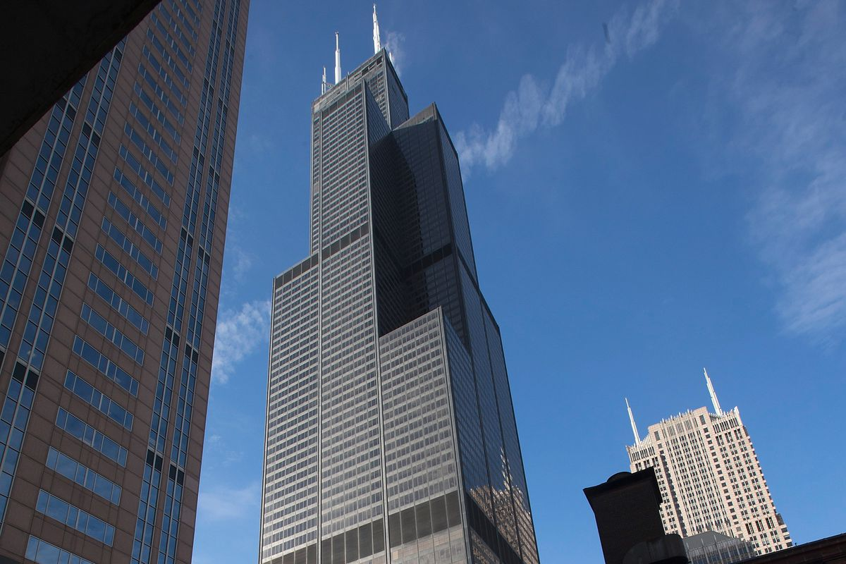 The 110-story building known as Willis Tower, for now.