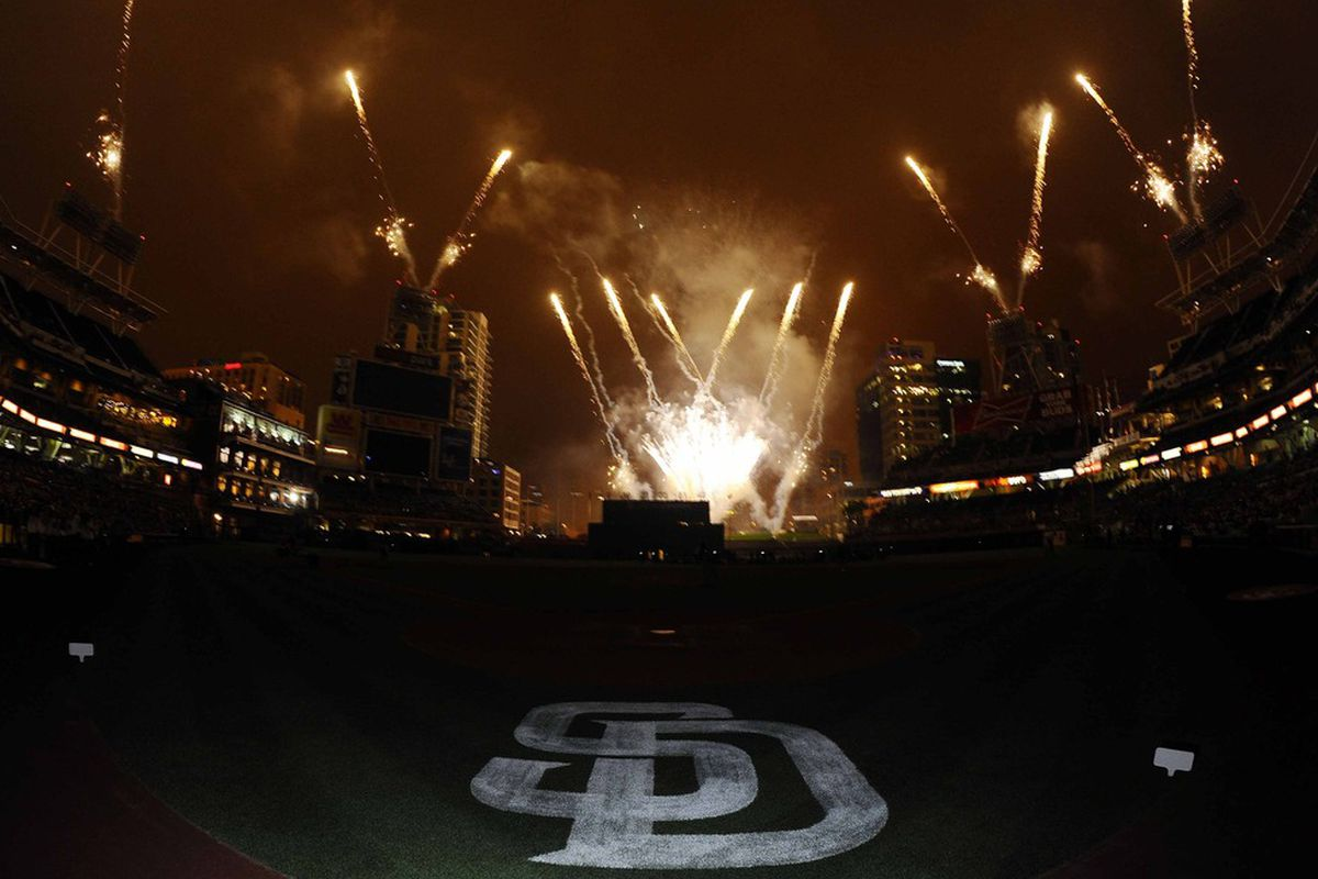 There will be five opportunities to watch fireworks at Petco Park this season.