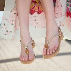 """<b>What do you think about the recent revival of '90s sandals, like <a href=""""http://la.racked.com/archives/2014/04/11/admit_it_all_of_a_sudden_tevas_look_totally_now.php""""target=""""_blank"""">Tevas</a>?</b></br> """"It's fun and I myself am all for comfort. But t"""