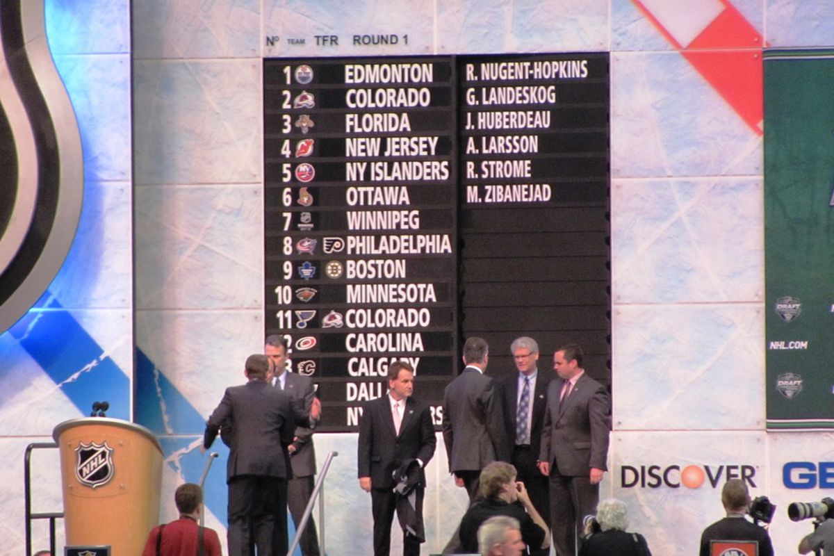 Something tells me that the NHL.com re-draft looked nothing like this...