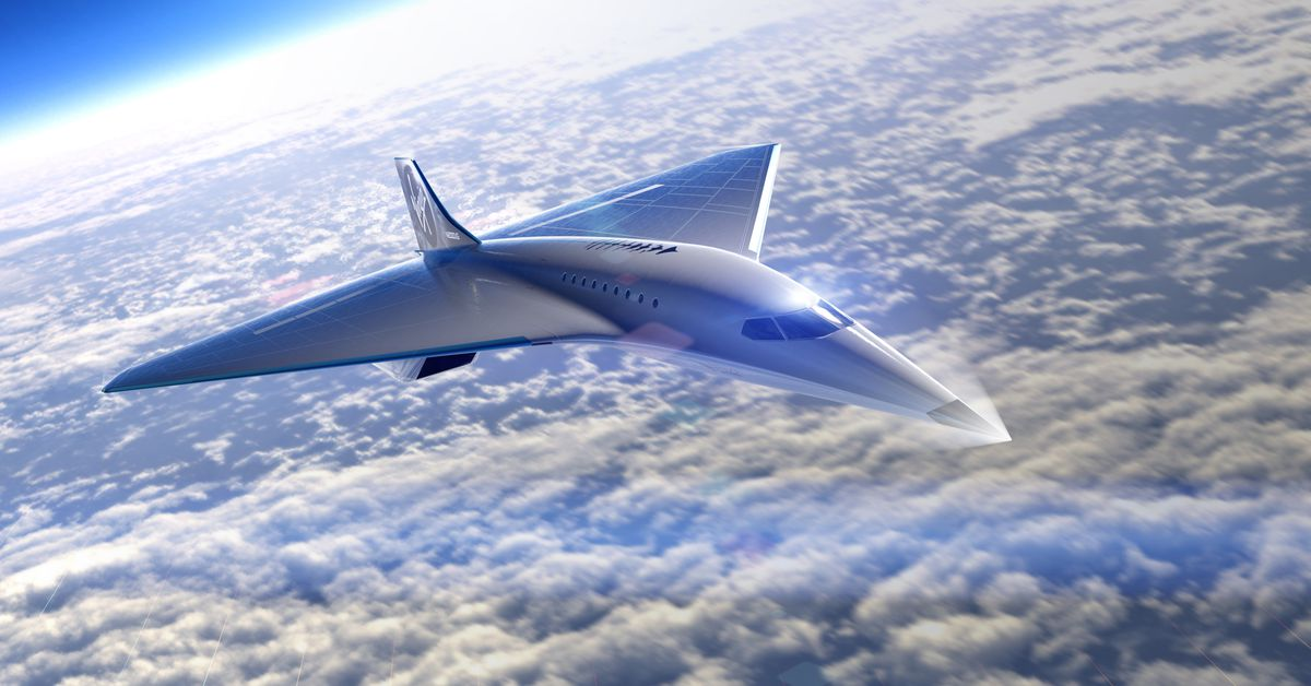 Virgin Galactic releases renders of proposed supersonic jet that can reach Mach 3